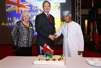 AUSTRALIANS CELEBRATE NATIONAL DAY IN MUSCAT