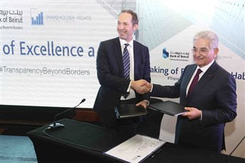 Bank of Beirut Signs the IGI Declaration