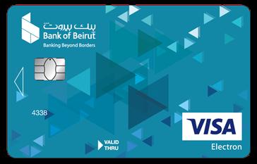 بطاقة السحب Visa Electron